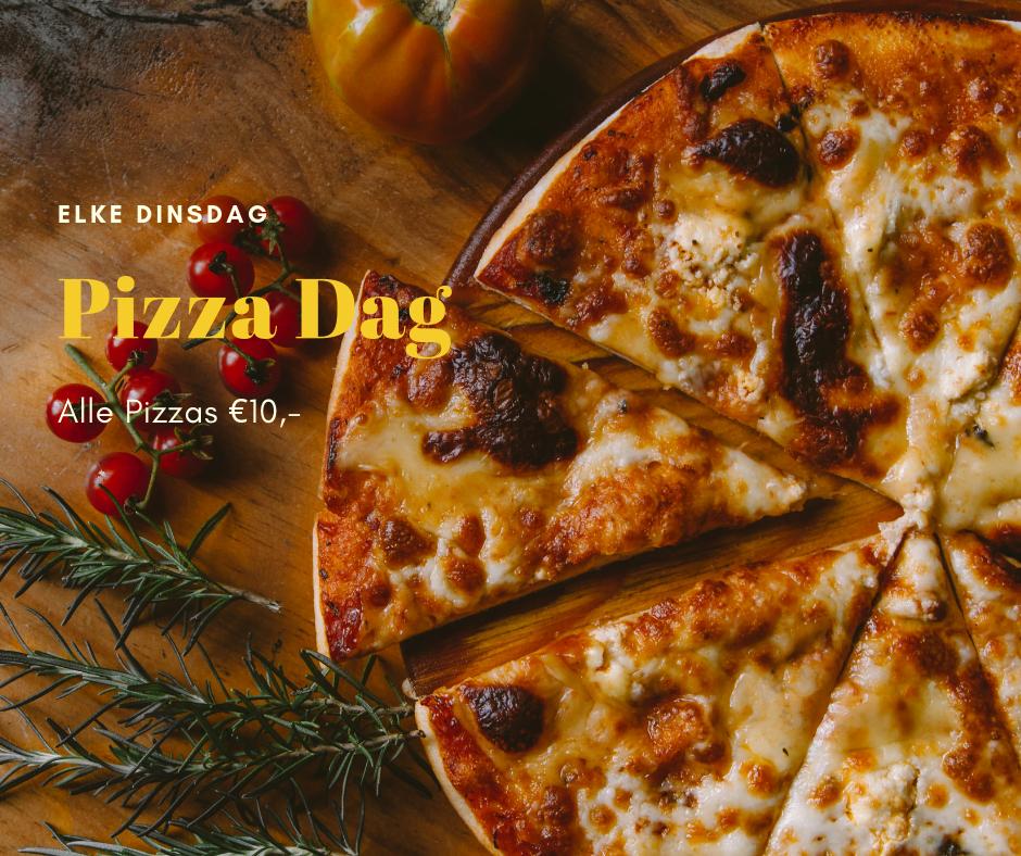 Dinsdag pizza dag